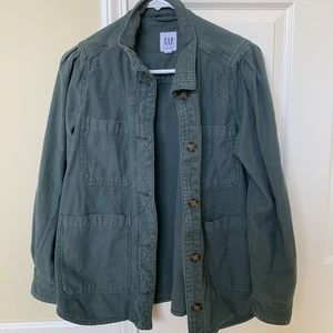 Gap Slub Chore Jacket Small Petite